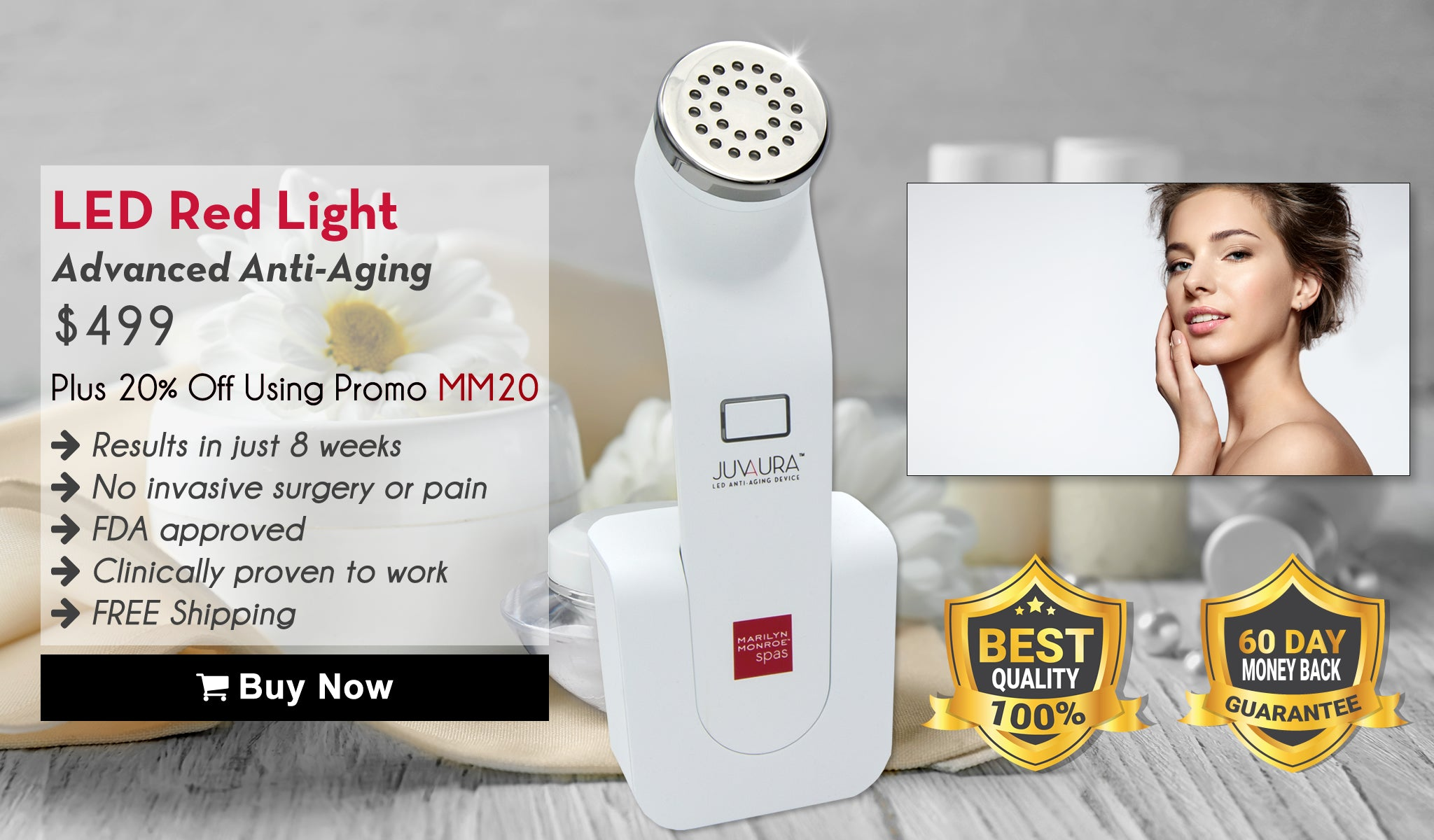 LED Red Light: Advanced Anti-Aging