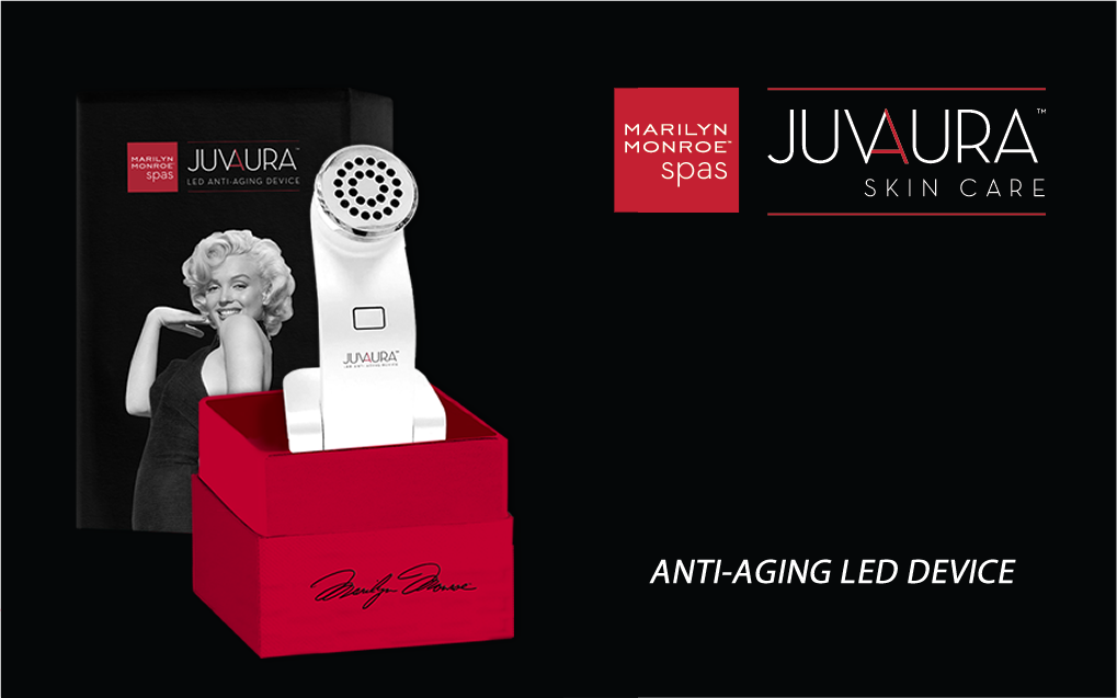 LED Anti-Aging Device - Juvaura Skin Care by Marilyn Monroe™ Spas