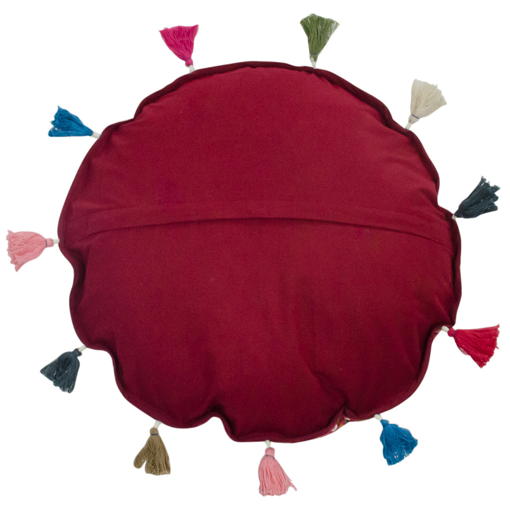 Back Cushion Pick Colored Comfortable Cushion