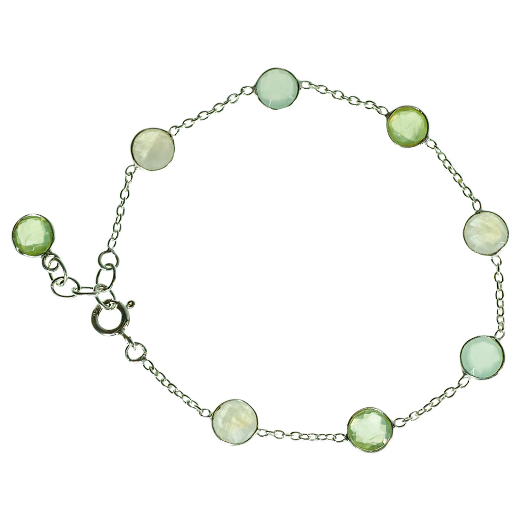 Bubble Chin Bracelet Chalcedony Green