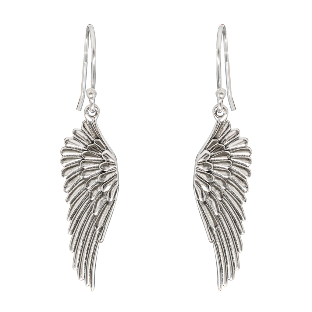 Dangle Sterling Silver Angel Wing