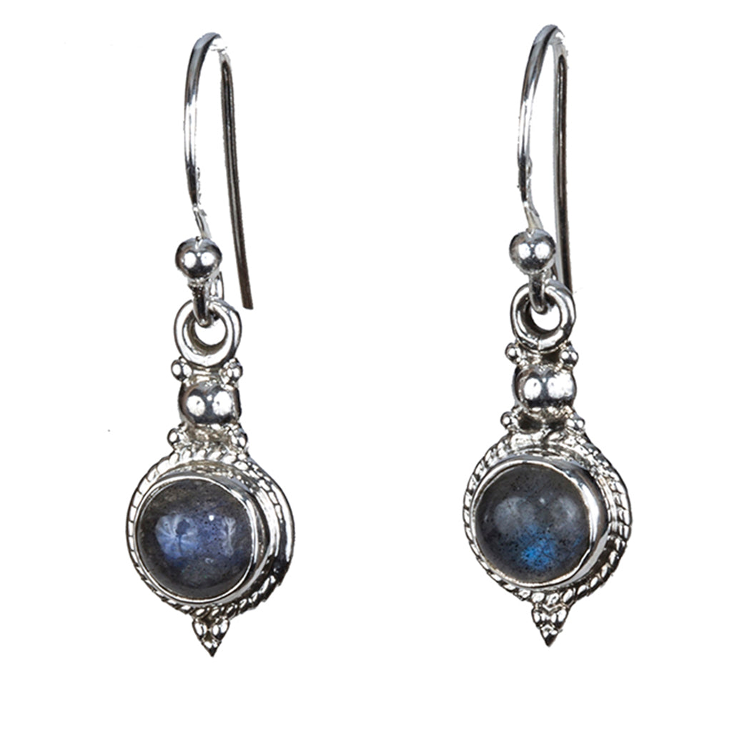 Affordable labradorite earring dangle cute
