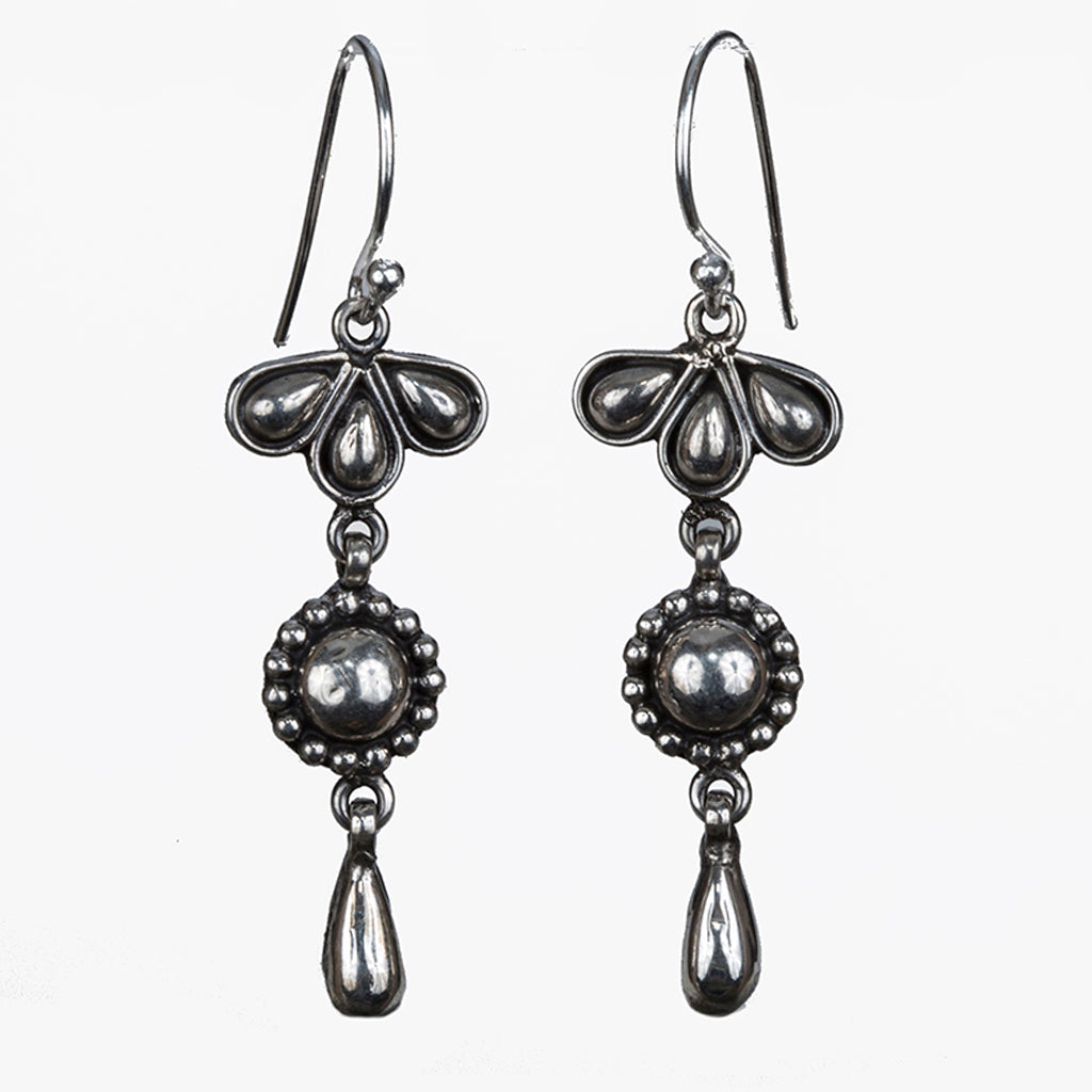 Silver dangle earring affordable Lorie