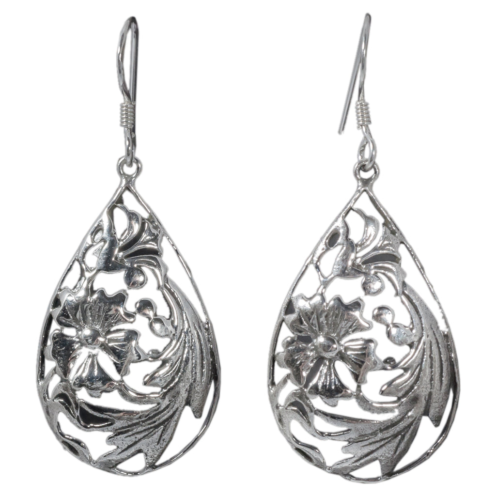 silver drop earring affordbale style