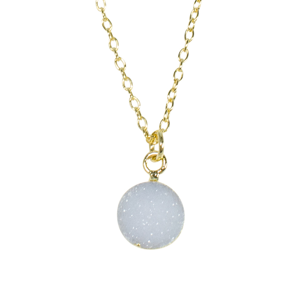 Flash Druzy Necklace