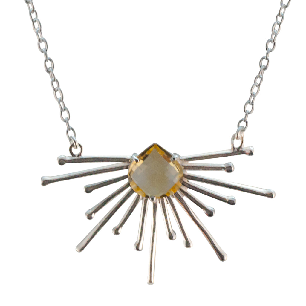 Rays Sun Necklace