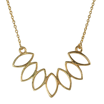 Lotus Petals Pendant Necklace