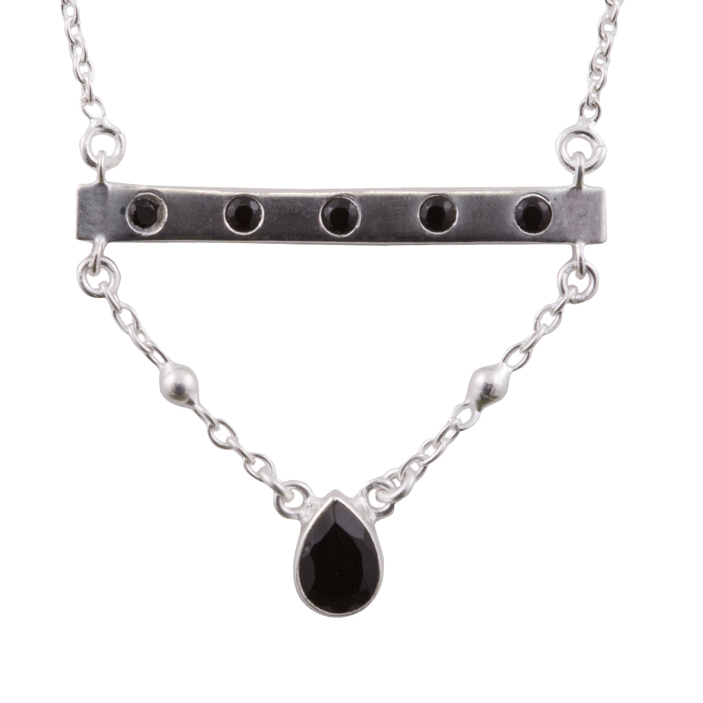 Bridged Bar Necklace