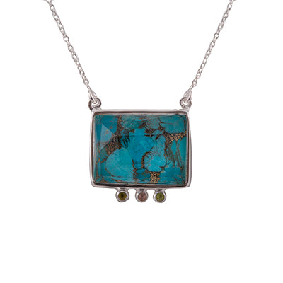 Transcendent Square Necklace