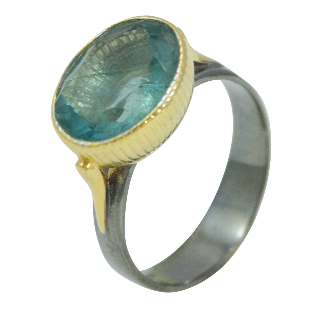 Ring Nefertiti Queen Egyptian Beautiful Stone Apatite Fashionable affordable