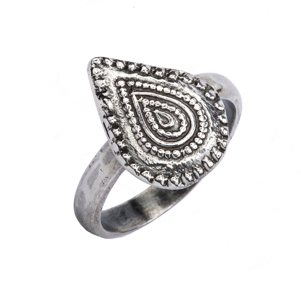 sterling silver boho handcrafted ring yoga jewelry affordable