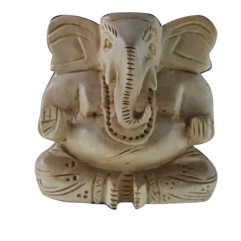 Wooden Ganesh Handcarved