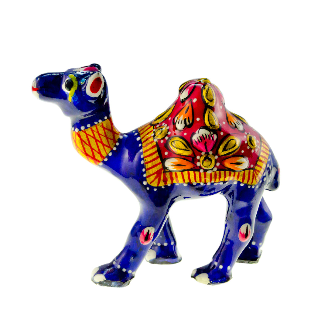 Colorful Camel Statue Small Delicate