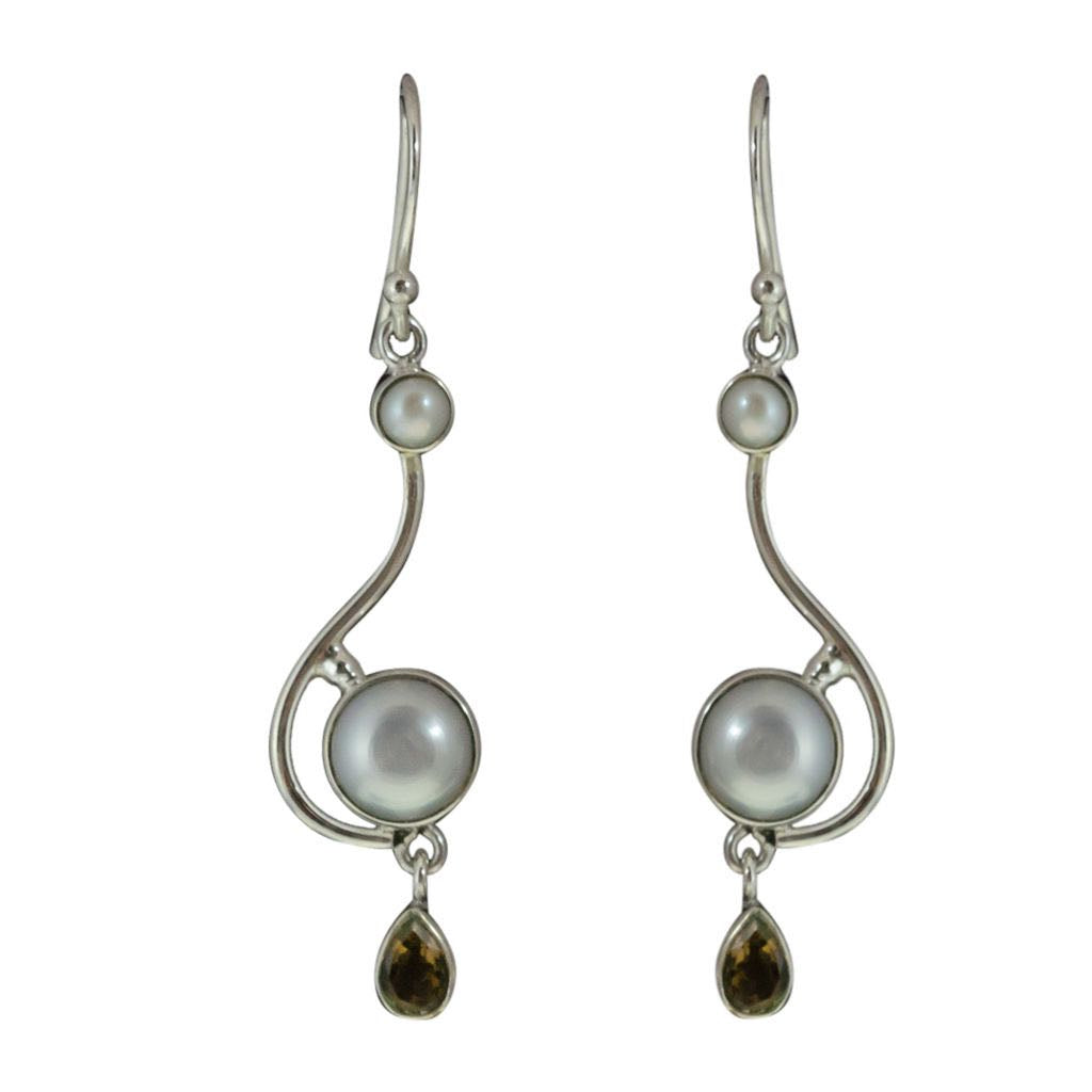 Drop Earring Cute Elegant Boho Affordable Stylish Pearl Jewelry Dangle