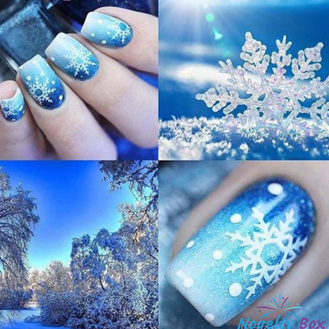 Christmas Snowflake 3D Nail Stickers