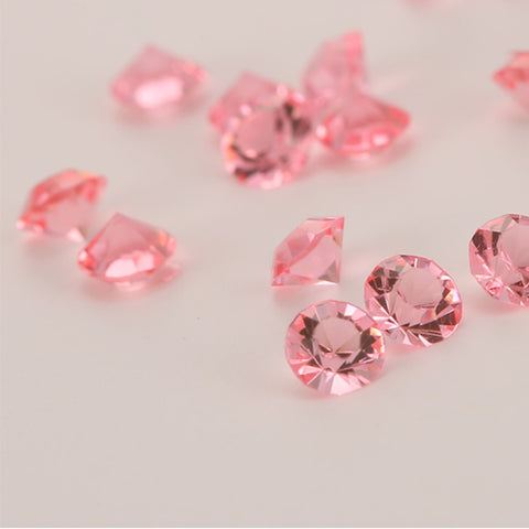 4.5mm Acrylic Crystals Diamond Confetti - Various Colours - NoveltyBox