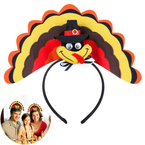 Thanksgiving Day Turkey Headband - NoveltyBox
