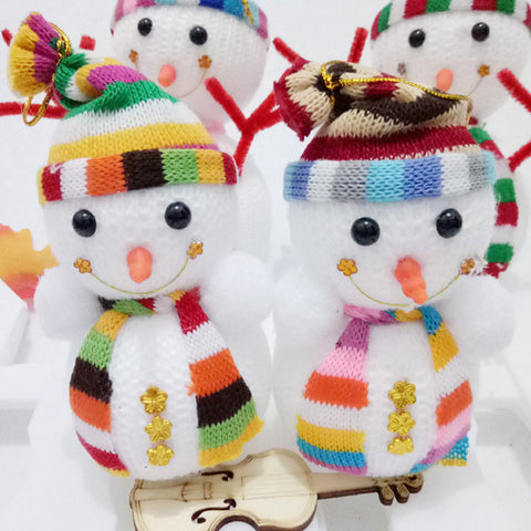 Christmas Tree Hanging Ornament - Snowman Doll