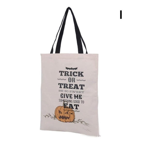 Halloween Gift Canvas Cotton Bag - Various Designs - NoveltyBox