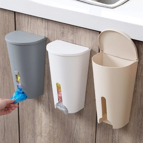 Small Storage Bin for Plastic Bags - Kitchen Organizer