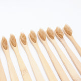 Soft Bamboo Toothbrush Set - 4 PCS