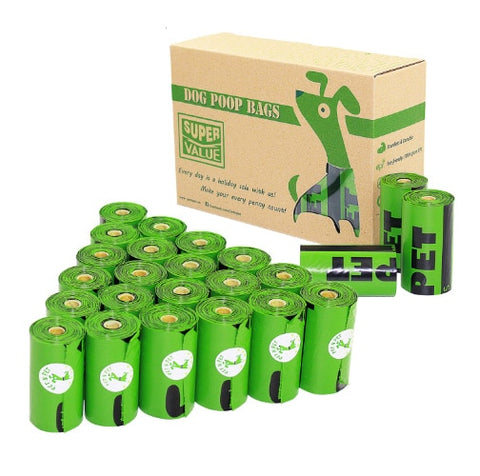 Degradable Dog Poop Bags - 24/48 Rolls