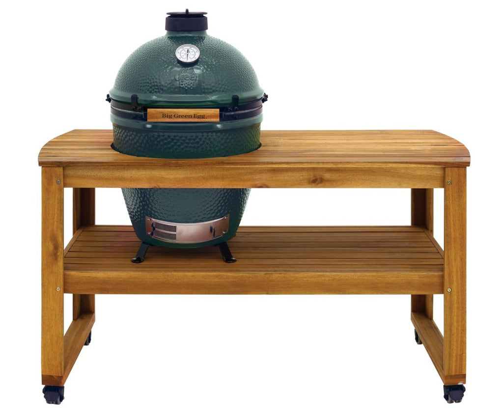 Pack start table acacia big green egg