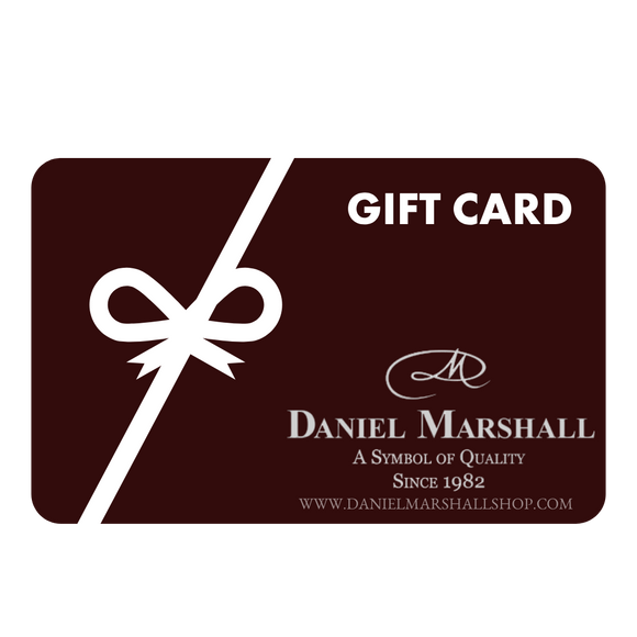 Gift Cards for Daniel Marshall Shop