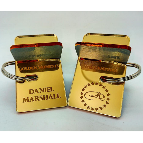 Daniel Marshall Golden Moments Cigar Rest Key holder