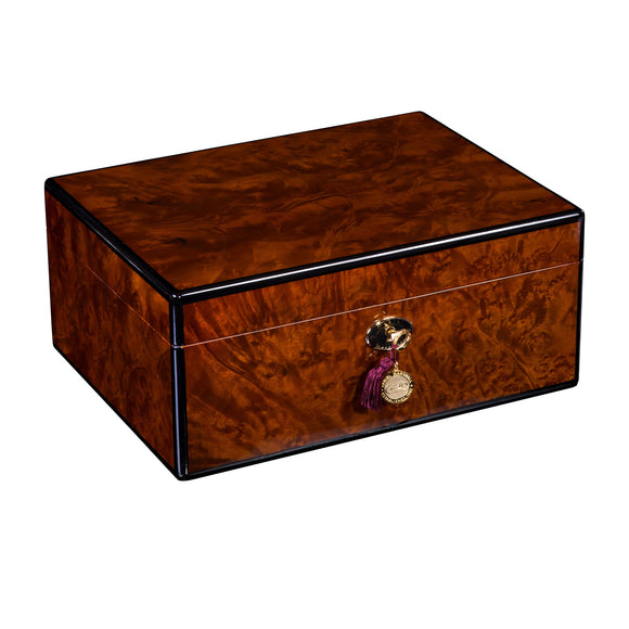 Cash for Clunker Trade in for a AUTOGRAPHED DANIEL MARSHALL 100 HUMIDOR IN PRECIOUS BURL HUMIDOR