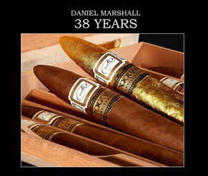 "Autographed ""38 YEARS"" Daniel Marshall Commemorative Book"