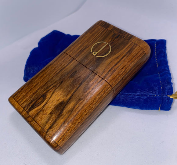 Cigarette /Cigarillo/ Blunt Case made in 1982 for Alfred Dunhill of London - DM Archives