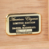 AUTOGRAPHED DANIEL MARSHALL LIMITED EDITION 165 HUMIDOR IN BURL