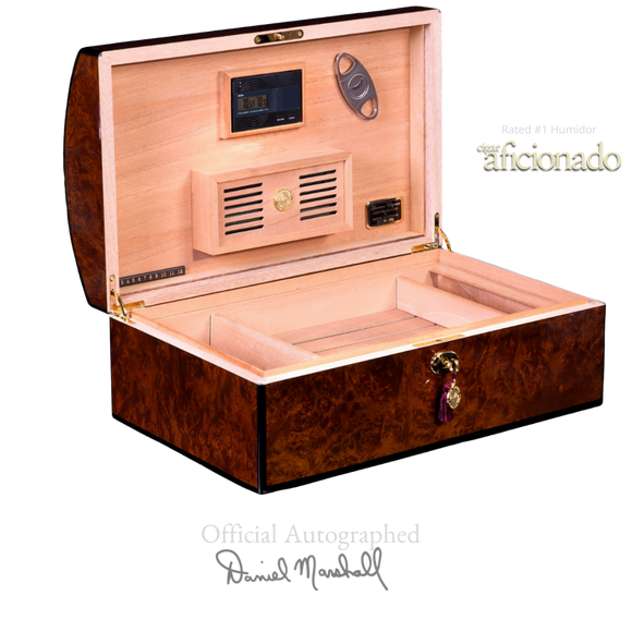 Cash for Clunker Trade in for a AUTOGRAPHED DANIEL MARSHALL LIMITED EDITION  TREASURE CHEST IN PRECIOUS BURL