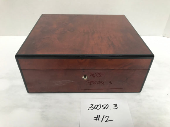 FACTORY FLOOR SALE ITEM #12 BURL 50 PRIVATE STOCK HUMIDOR