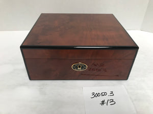 FACTORY FLOOR SALE ITEM #13 BURL 50 PRIVATE STOCK HUMIDOR