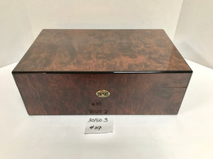 FACTORY FLOOR SALE ITEM #37 BURL 150 PRIVATE STOCK HUMIDOR