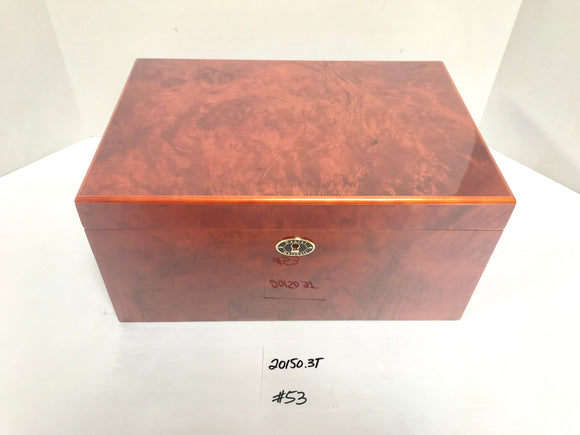 FACTORY FLOOR SALE ITEM #53 BURL 150 PRIVATE STOCK HUMIDOR