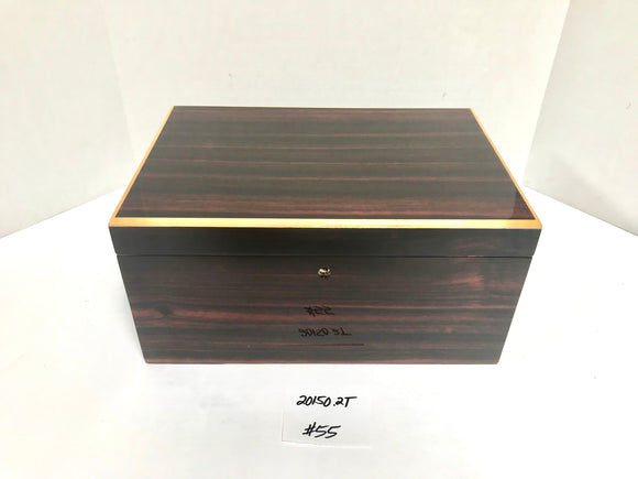 FACTORY FLOOR SALE ITEM #55 MACASSAR EBONY 20150 PRIVATE STOCK HUMIDOR