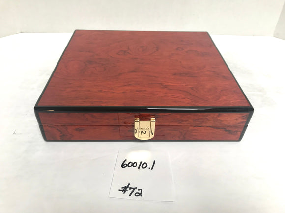 FACTORY FLOOR SALE ITEM #72 ROSEWOOD TRAVEL 20 PRIVATE STOCK HUMIDOR