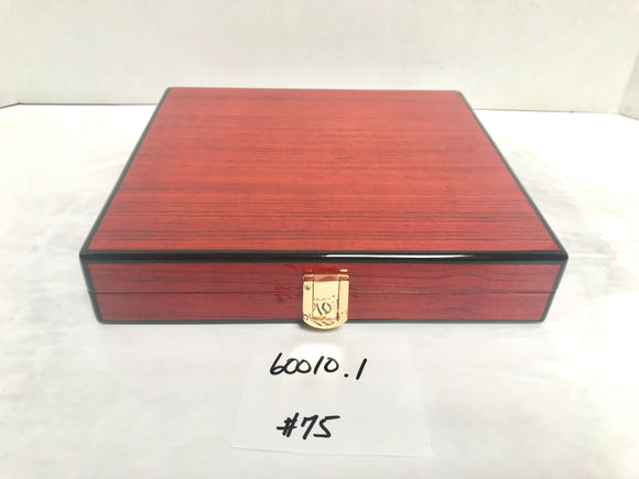 FACTORY FLOOR SALE ITEM #75 ROSEWOOD TRAVEL 20 PRIVATE STOCK HUMIDOR