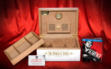 RARE SCARFACE HUMIDOR WITH BLU RAY BY DANIEL MARSHALL LIMITED EDITION