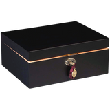 AUTOGRAPHED AMBIENTE BY DANIEL MARSHALL 65 HUMIDOR IN BLACK MATTE