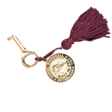 Golden Key with Tassel and Medallion