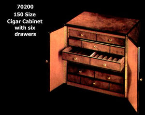 """6 Drawer Cabinet with sliding drawers for Alfred Dunhill of London"" by Daniel Marshall"