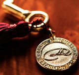 Golden Key with Tassel and DM Medallion