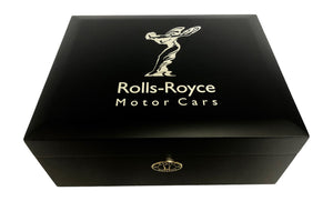 """Rolls Royce Humidor"" by Daniel Marshall filled with DM Cigars"