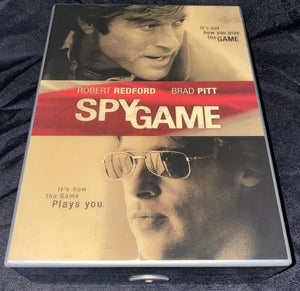 "Director Tony Scott's ""Spy Game"" with Brad Pitt & Robert Redford Humidor by Daniel Marshall"