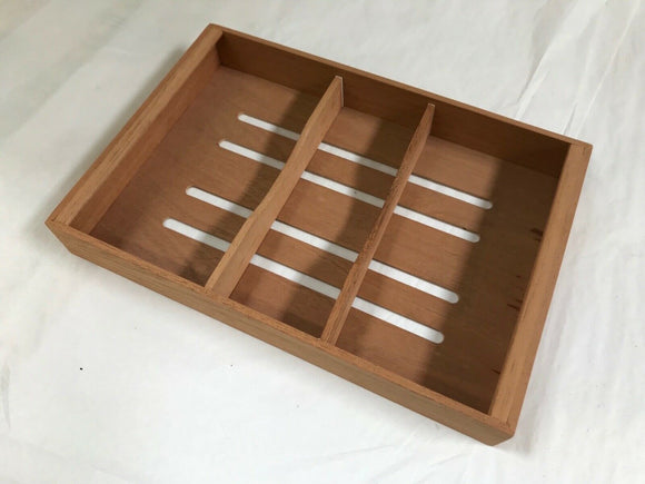 Daniel Marshall Spanish Cedar Lift Out Trays