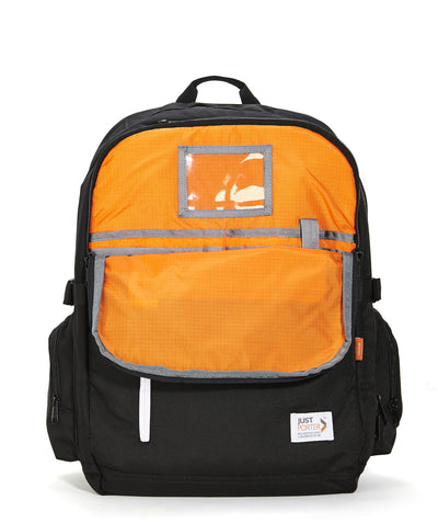 Just Porter's Professional Backpack has organization and room for your iPad
